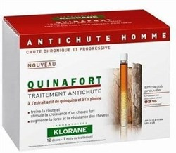 Klorane Quinafort Anti-hair loss Treatment (for men) 12 doses