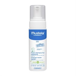 Mustela Foam Shampoo For Newborns 150 ml.
